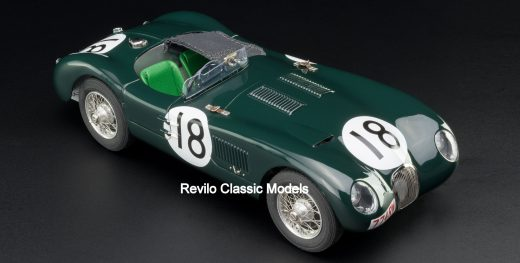 CMC 1:18 Jaguar C Type M-195-4